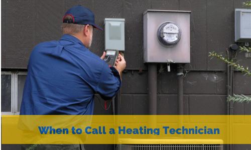 when should you call a technician?