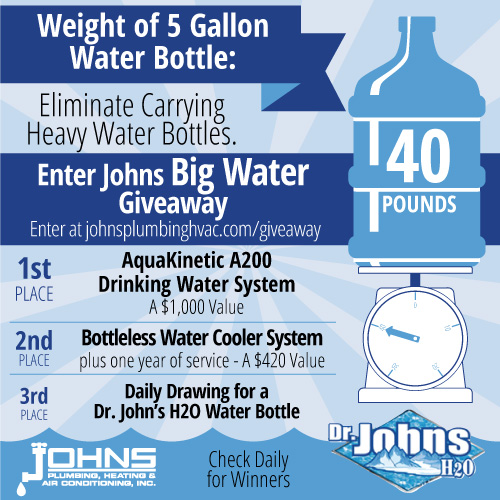 johns water giveaway