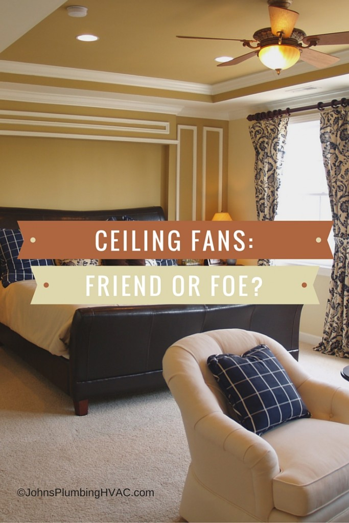Are ceiling fans effective in cooling down a room?