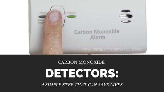 Carbon monoxide detetectors - a simple step that save your life